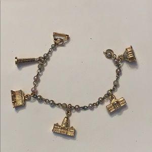 Vintage Washington DC Charm Bracelet